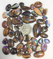 49 Pieces of Koroit matrix opal