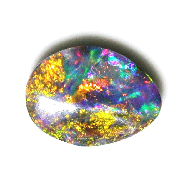 Flame Tree solid boulder opal