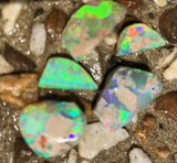 Rubbed Opal  from Lightning Ridge