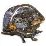 Crocodile On Boulder Opal