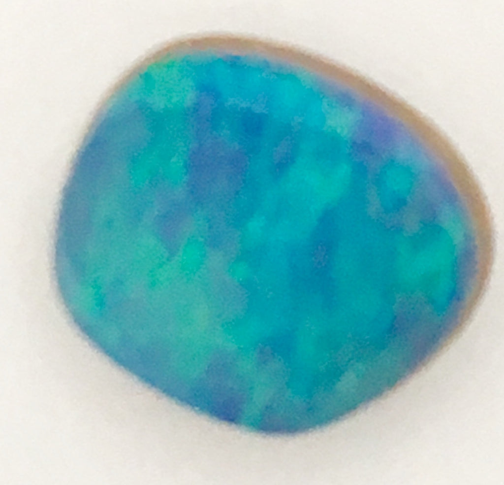Green Blue Doublet Opal