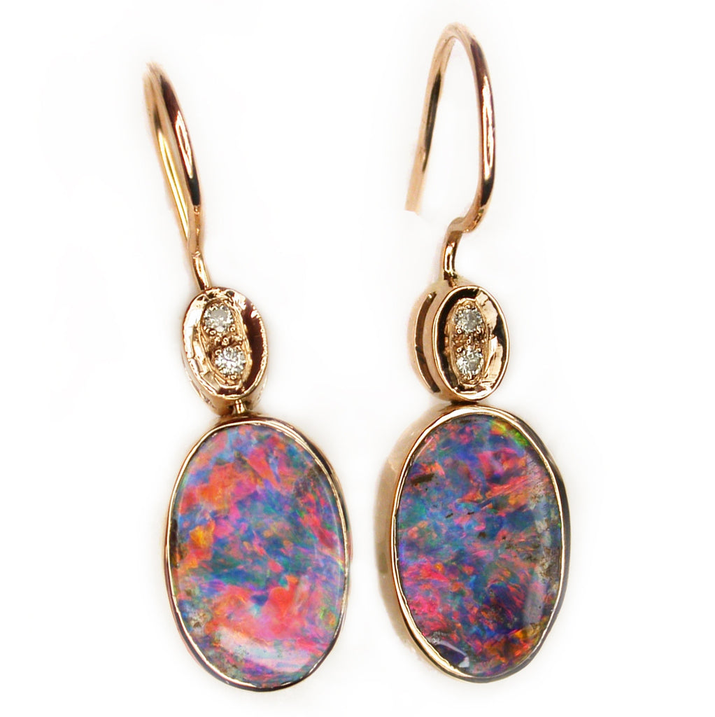 Top Gem Boulder Drop Earrings