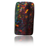 Red Orange Multi Boulder Opal Stone