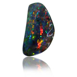 Red Multi Colour Opal Stone