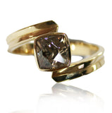 Zircon 18k Gold Ring