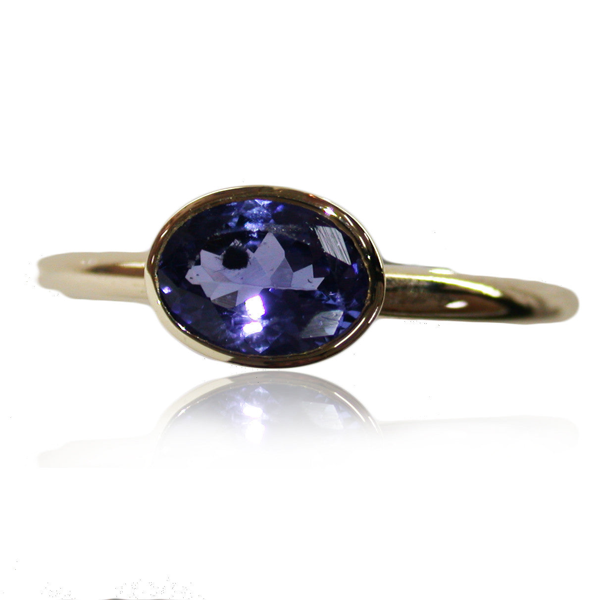 Tanzanite 9k Gold Ring
