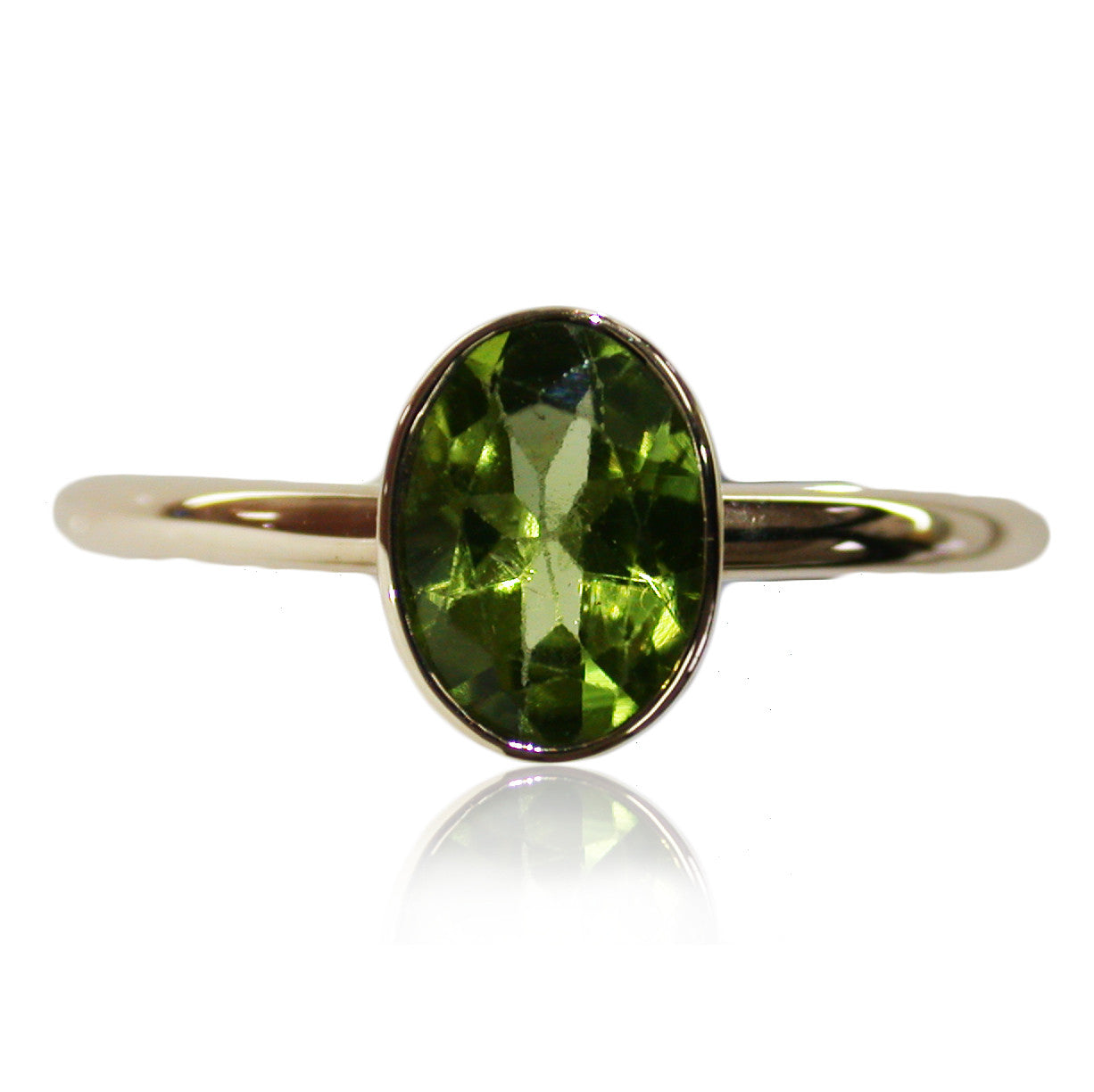 Peridot 9k Gold Ring