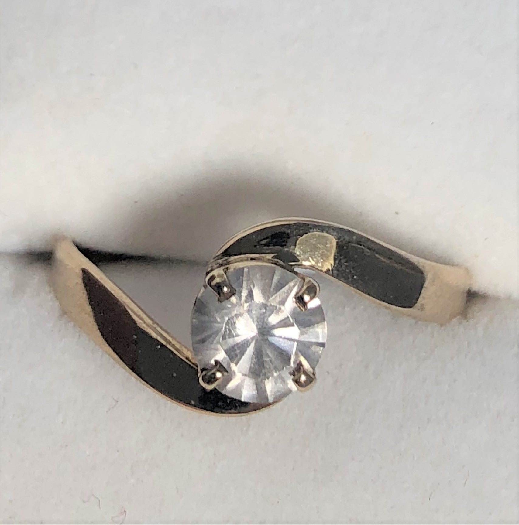 Australian Zircon Gold Ring
