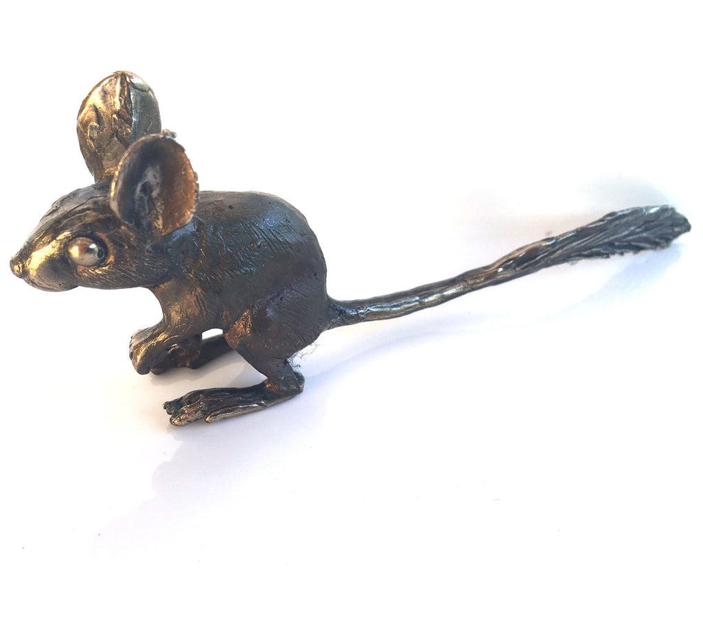 Bronze spinifex hopping mouse