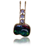 Green Red 9k Pendant
