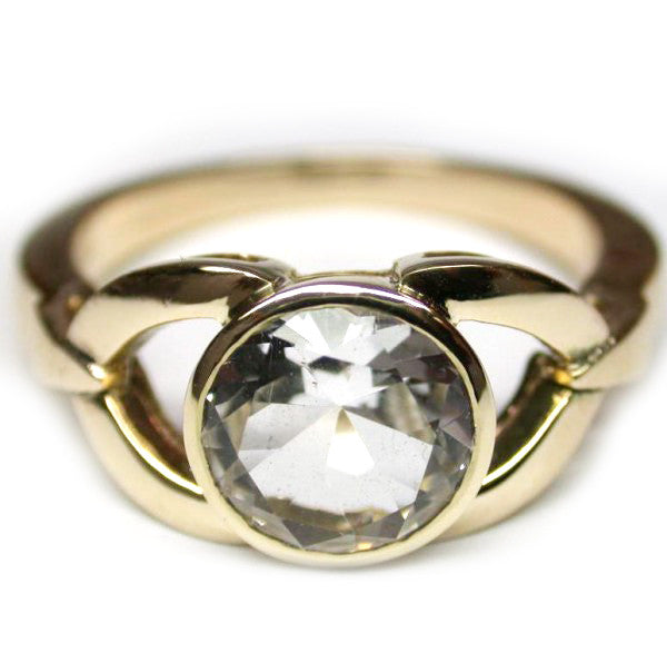 Bright Topaz 9k Ring