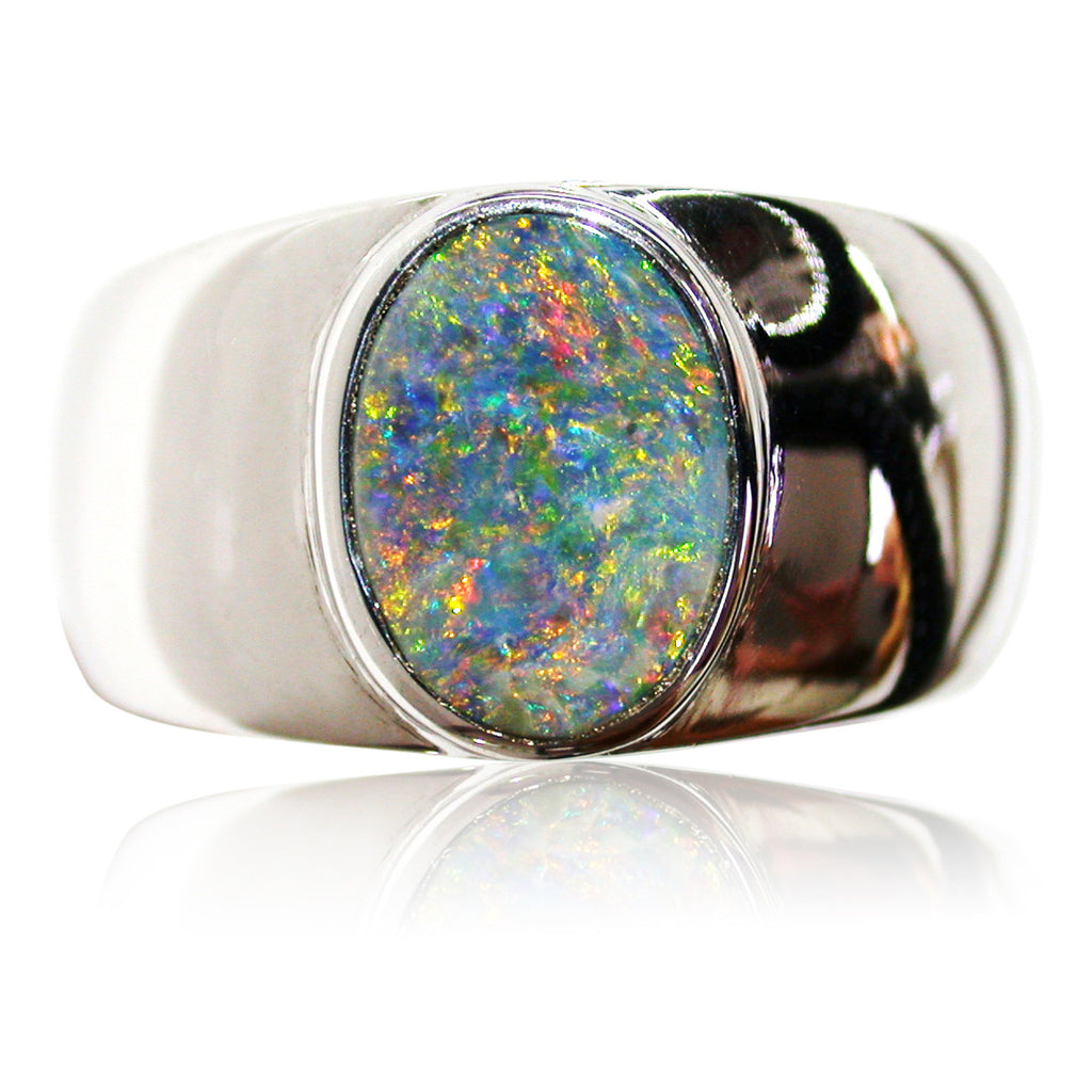 Blue Green Orange S/S Ring