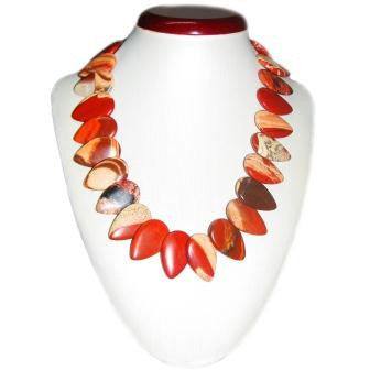 Stunning and Stylish Jasper Beaded Necklace