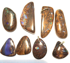 8 Koroit Matrix slide pendants