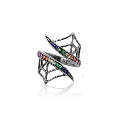 Colourful Gemstones Ring