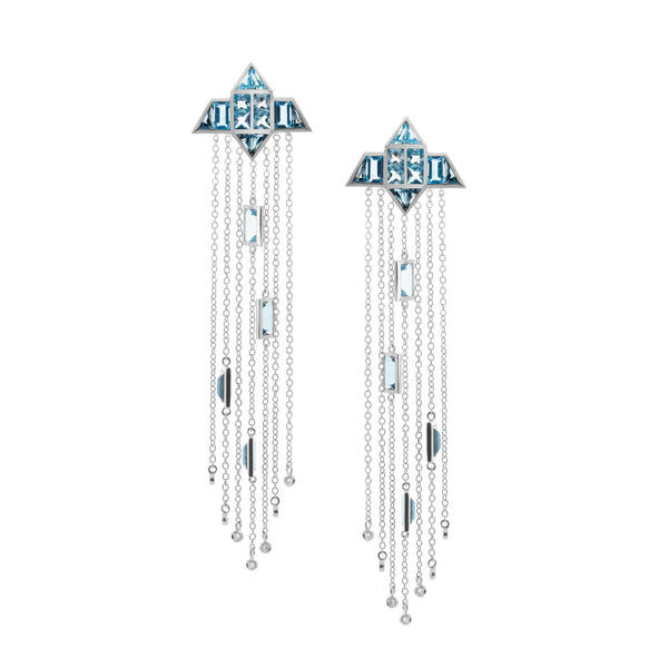 into space earrings