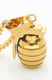 Gold Grenade Necklace
