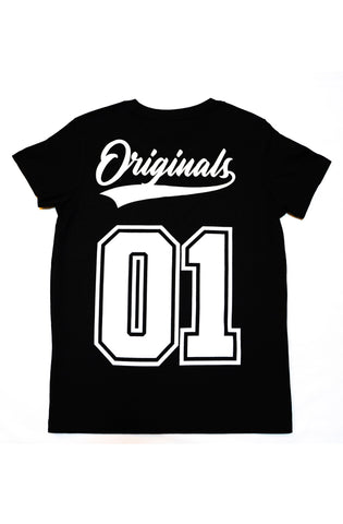 1st Gen Womens Black Originals Tee