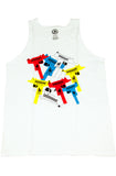 Dealers Uzi White Tank Top