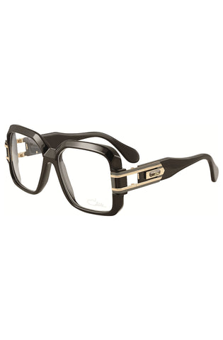Cazal 671 001 Legends Black Gold Square Eyeglasses