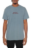 Eight & Nine Beach Moves Garment Dye Ice Blue Tee