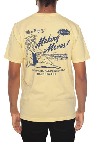 Eight & Nine Beach Moves Garment Dye Butter Tee