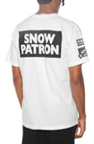 Eight & Nine Patron Beach Garment Dye White Tee