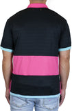 Stay Winning Black/Pink Soccer Polo Tee