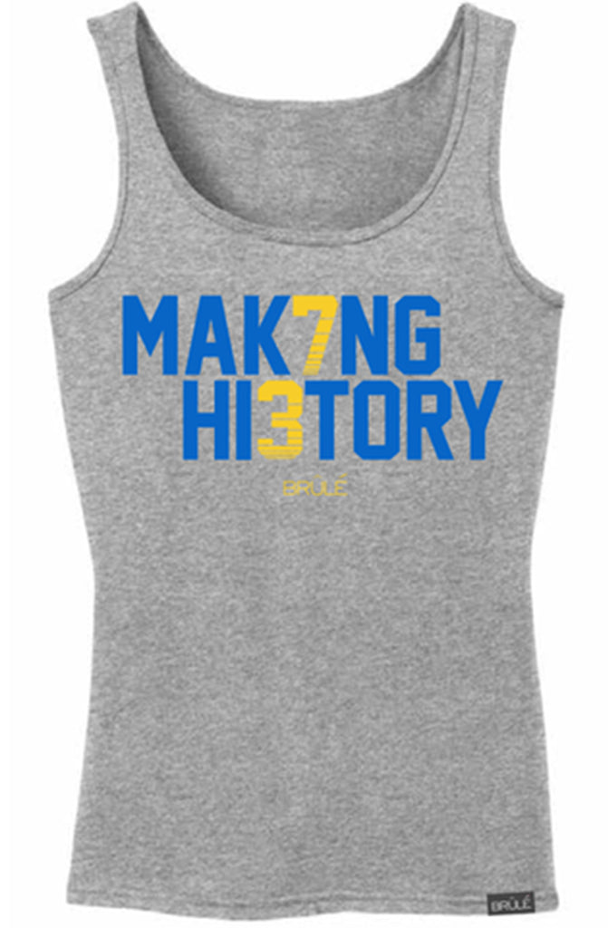 Brule Making History Womens Heather Gray Tank