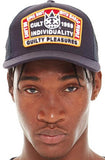 Cult Of Individuality Guilty Pleasures Trucker Hat (Navy)
