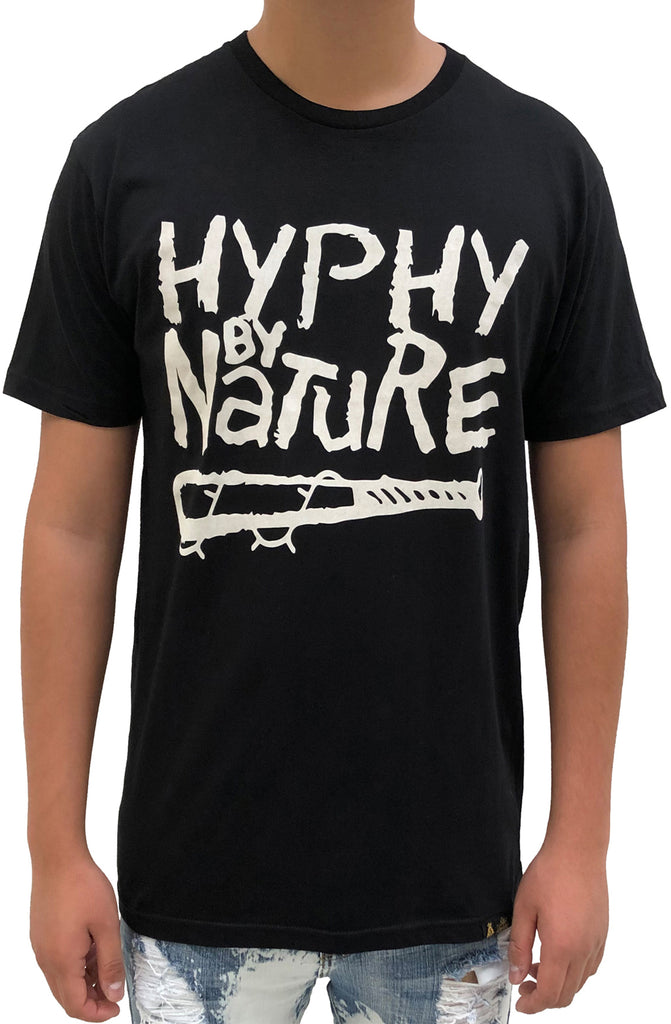 Stay Winning Hyphy By Nature Black/White Tee