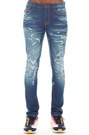 Cult Of Individuality Punk Super Skinny Stretch Denim (Corum)