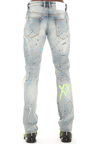 Cult Of Individuality Rocker Slim Stretch Denim (Neon)