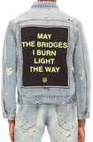 Cult Of Individuality Type ll Denim Jacket (Neon)