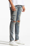 Embellish Majoris Denim Vintage Blue Jeans