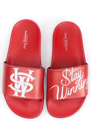 Stay Winning SW Red Slides