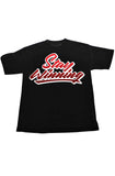 Stay Winning Youth Graffiti Brush Black Tee