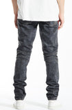 Embellish Tiziano Biker Denim Black Overdye