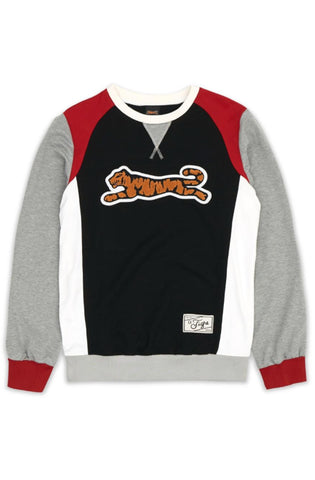 Le Tigre Retro Logo Crewneck Sweater (Black)
