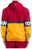 Iro-Ochi Off Course Yellow/Red Windbreaker