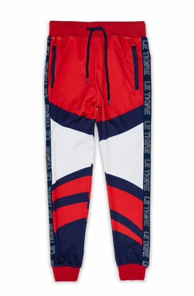 Le Tigre Abington Track Pants (Red)