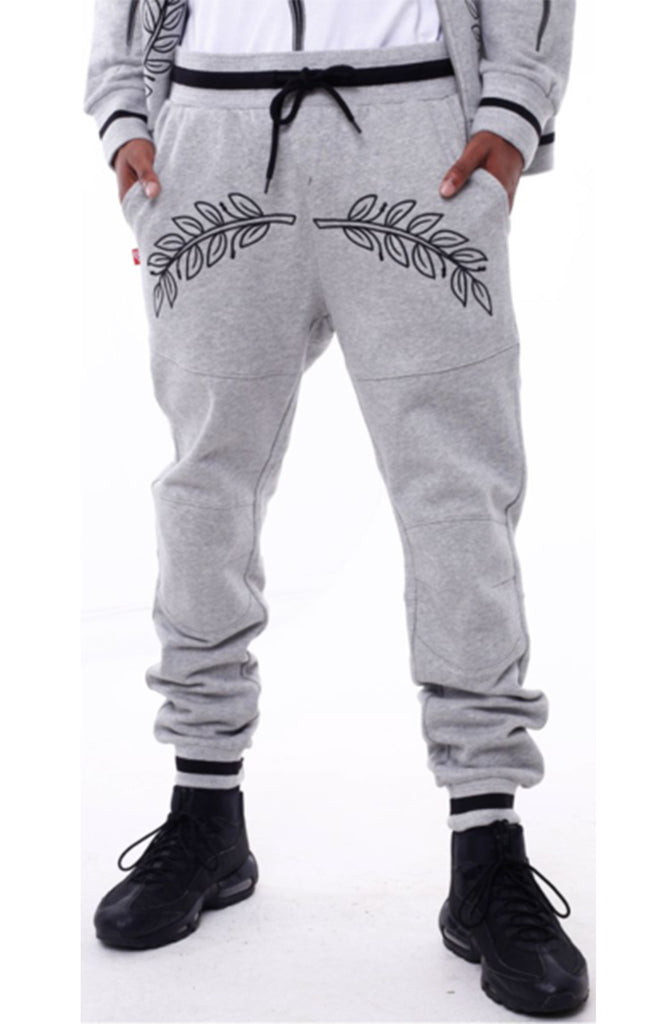 Eight And Nine Rebirth Flight Joggers Gray