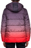 EPTM Gradient Puff Jacket (Black/Red)