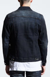Embellish Clemente Denim Jacket (Charcoal)
