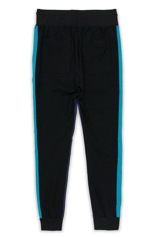 Le Tigre Retro Jogger (Black/Teal/Navy)