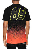 Eight & Nine Pro Comp SS Racing Black T-Shirt