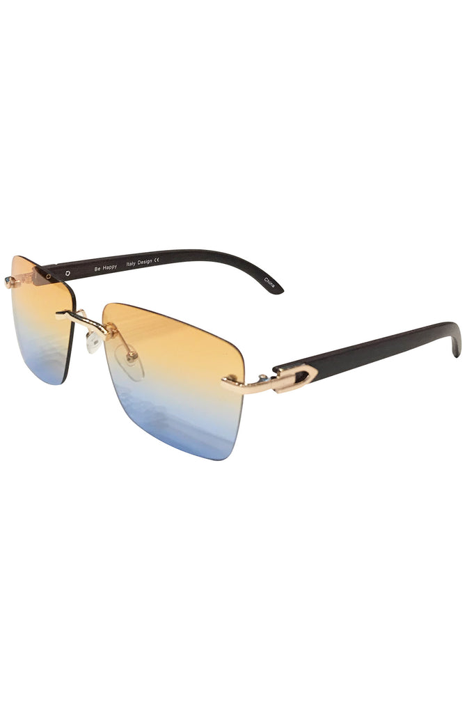Floats Miami Blue Sunglasses (Brown)