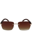Floats Miami Brown Sunglasses (Brown)