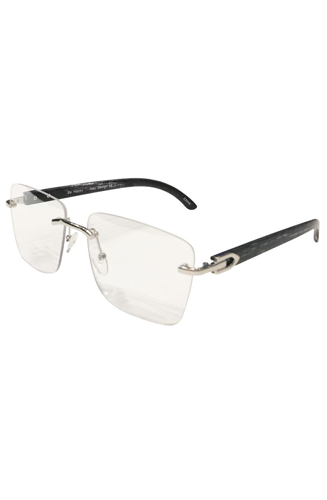Floats Miami Clear Glasses (Black)