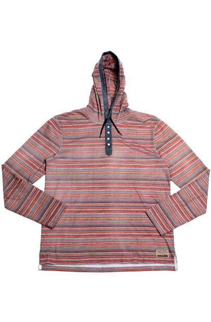 Free Nature Tribal Orange Hoodie